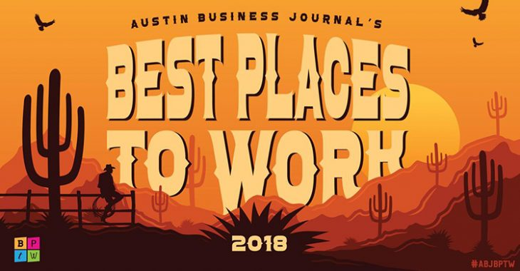 Austin Business Journal - 2018 Best Places to Work Award