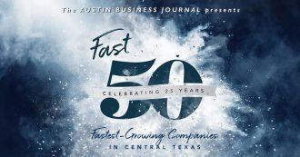 2018 Austin Business Journal Fast 50 Award