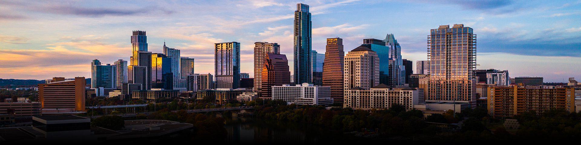 Austin, Texas - Downtown Skyline