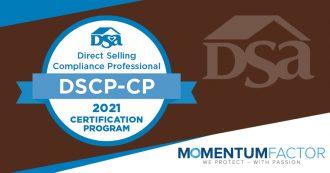 Direct Selling Compliance Professional Certification Program (DSCP)