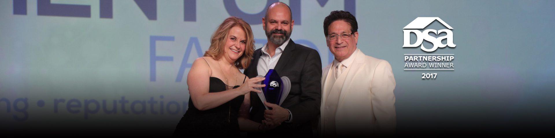 Momentum Factor - 2017 DSA Partnership Award Winner