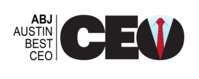 Austin Business Journal - Austin Best CEO Award Logo